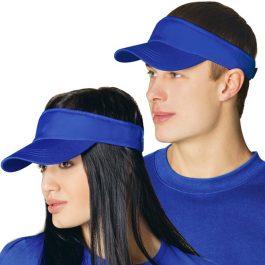 синий козырек бейсболка