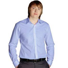 мужская классическая сорочка голубая
