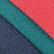 Расцветки меланжа: т-синий, изумрудный, бордовый