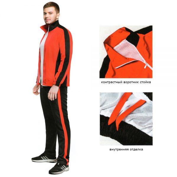 Мужской спортивный костюм изображение