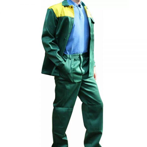 Костюм Стандарт зеленый с желтым