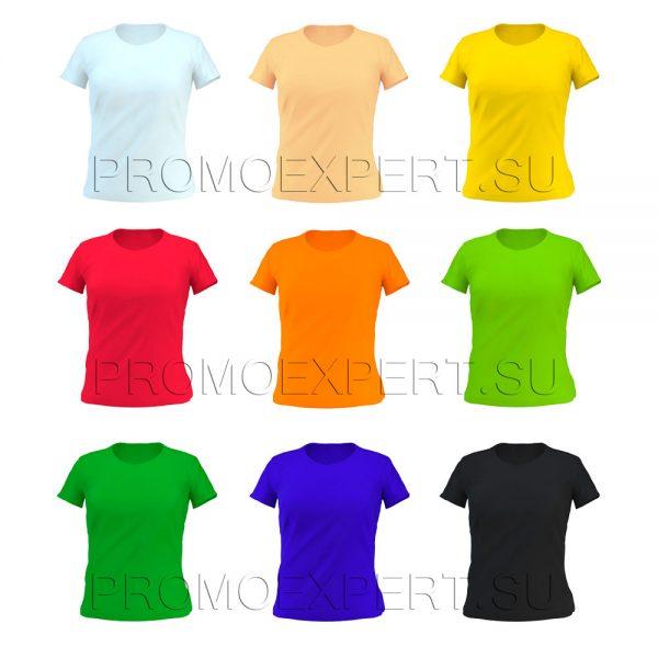 Однотонные приталенные футболки оптом заставка