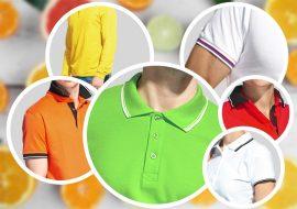 Индивидуальый пошив рубашек поло оптом - коллаж