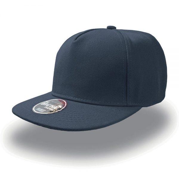 Темно синяя бейсболка SnapBack - 5 клинка