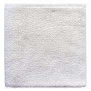 Плотное белое полотенце для отелей махра