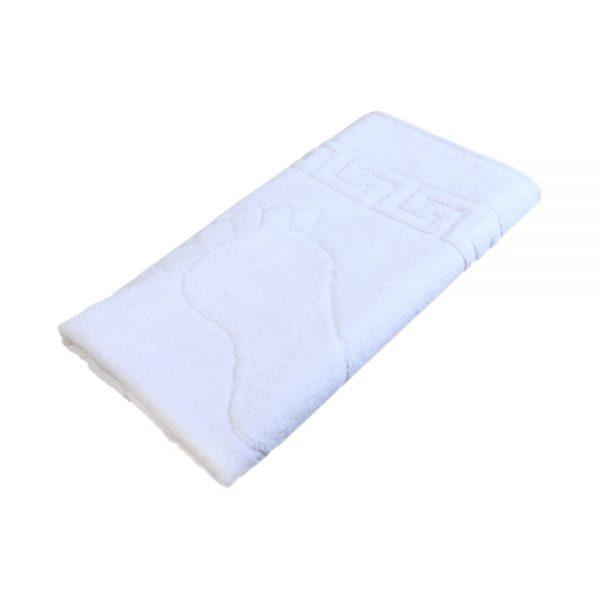 Отельное полотенце Ножки белый цвет