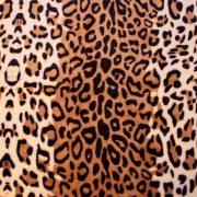 Леопардовая расцветка пледа из микрофибры