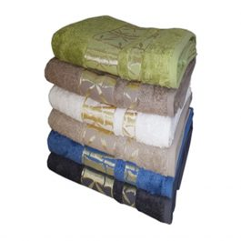 Полотенце из бамбуковой пряжи