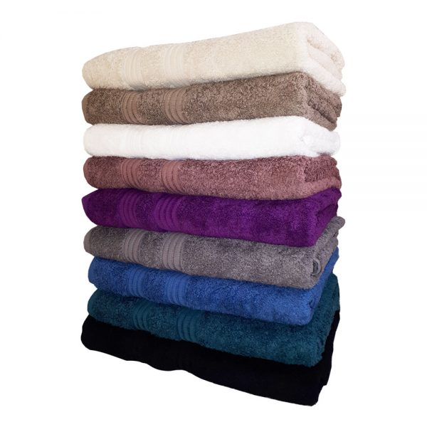 Купить оптом полотенце с имитацией шенилловой нити