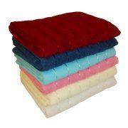 жаккардовое полотенце с атласной нитью