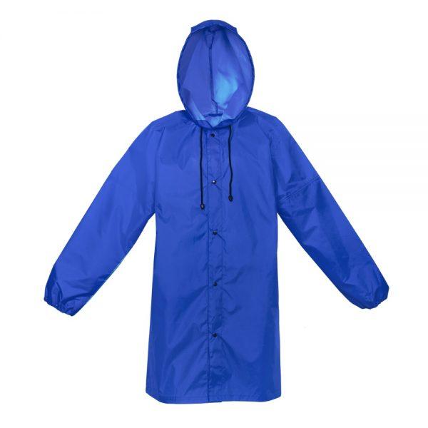 синий дождевик